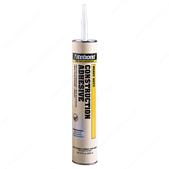 Heavy Duty Glass Glue : Titebond heavy duty adhesive hi tech glazing supplies