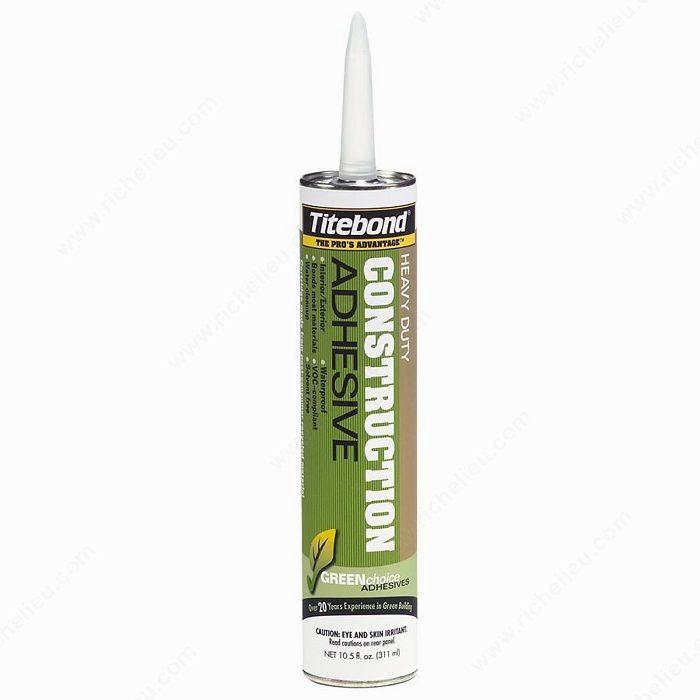 Heavy Duty Glass Glue : Titebond solvent free construction adhesive hi tech