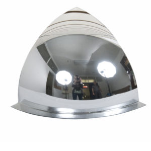 Acrylic 90° Hemispheric Safety Mirror