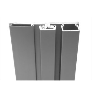 Continuous Geared Full Surface Aluminum Hinge for Narrow Frames