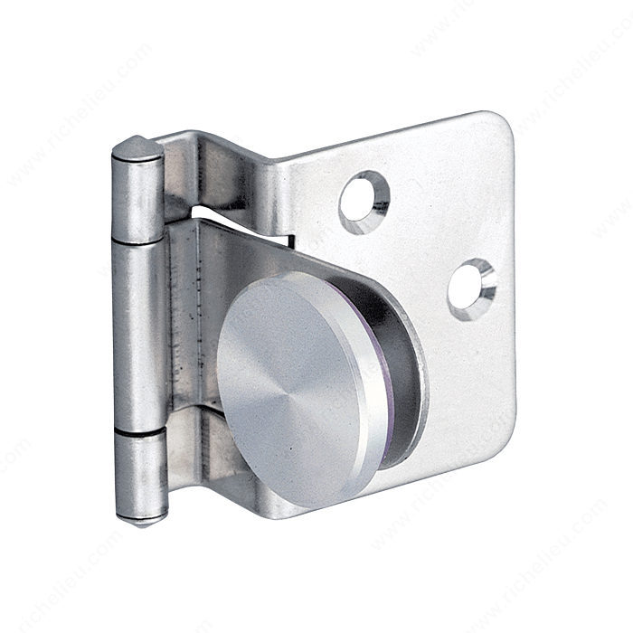 Surface Mounted Hinge For Half Overlay Glass Doors For