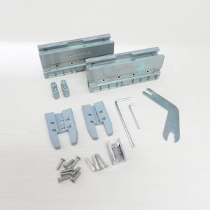 Compression Clamp Kit for Glass Doors