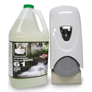 Envirolab 61 Hand Cleaner Kit - Soap & Dispenser