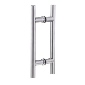 "3/4"" (19 mm) Ladder Back-to-Back Stainless Steel Handle"