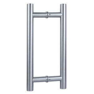 "1-3/16"" (30 mm) Diameter Back-to-Back Ladder Mount Stainless Steel Handle"