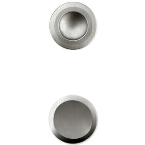 Recessed Pull Handle for Glass Doors