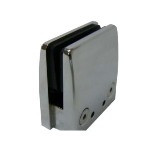 Adjustable Tapered Square Glass Clamp for Flat Mounting