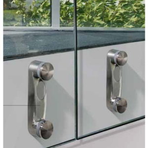 Spacer System for Glass Railing