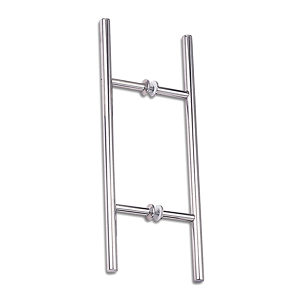 "1-1/4"" (32 mm) Diameter Ladder Back-to-Back Stainless Steel Handle"