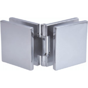 Glass-to-Glass Adjustable Clamp - Square