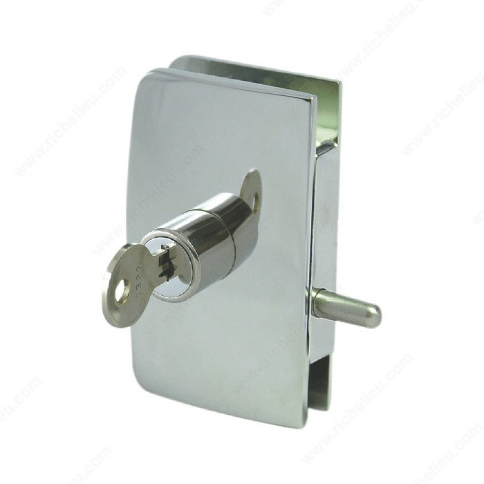 keyed swinging glass door lock hi tech glazing supplies. Black Bedroom Furniture Sets. Home Design Ideas