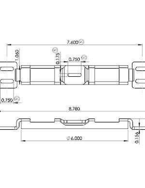 Double Hook Mortise Lock Keeper Hi Tech Glazing Supplies