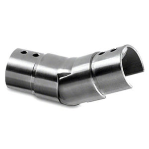 New 25 to 55º Upwards Adjustable Angled Cap Handrail Connector