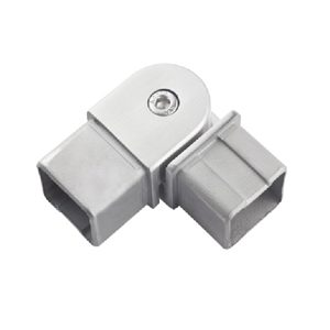 Adjustable Flush Angle (0° to 90°) Connectors for Square Handrail