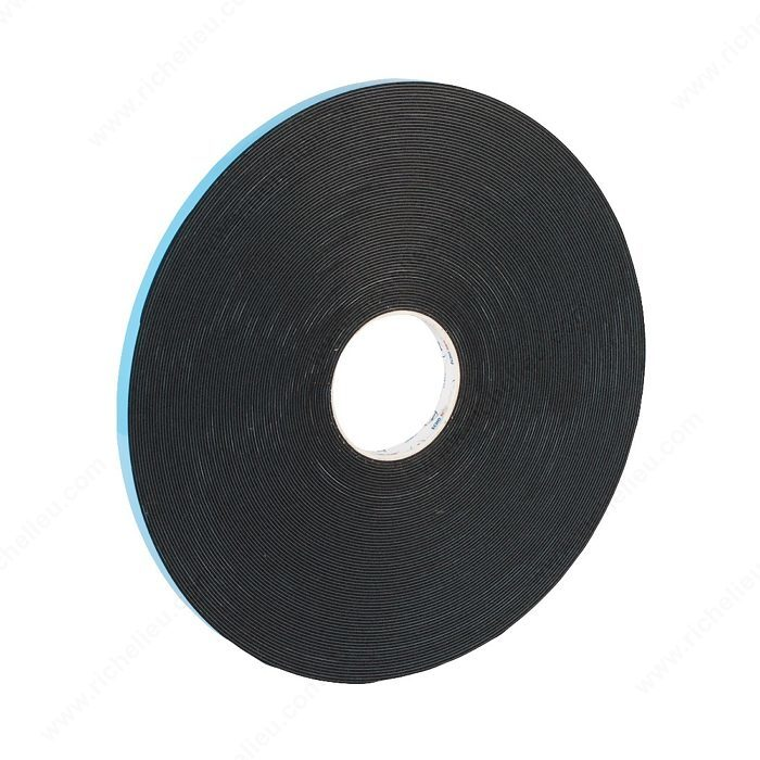 Double Sided Black Foam Tape With Acrylic Adhesive For