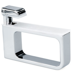 Recto Glass/Wood Wall Shelf Support