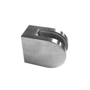 Round Glass Clamp - Flat Post Mount - Model 507