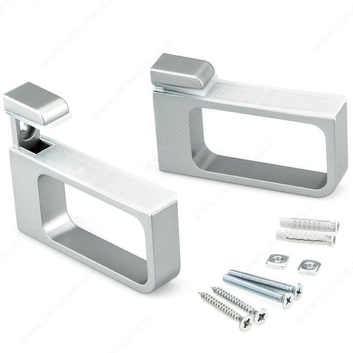 Recto Glass Wood Wall Shelf Support Hi Tech Glazing Supplies