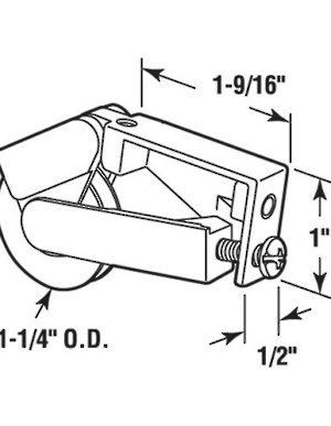 Sliding Patio Door Roller Hi Tech Glazing Supplies