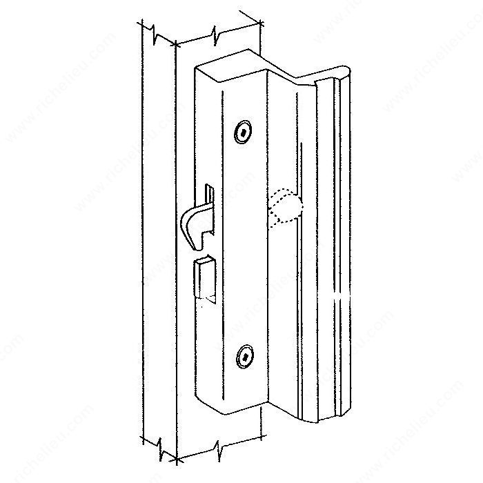 Hook Style Patio Door Handle