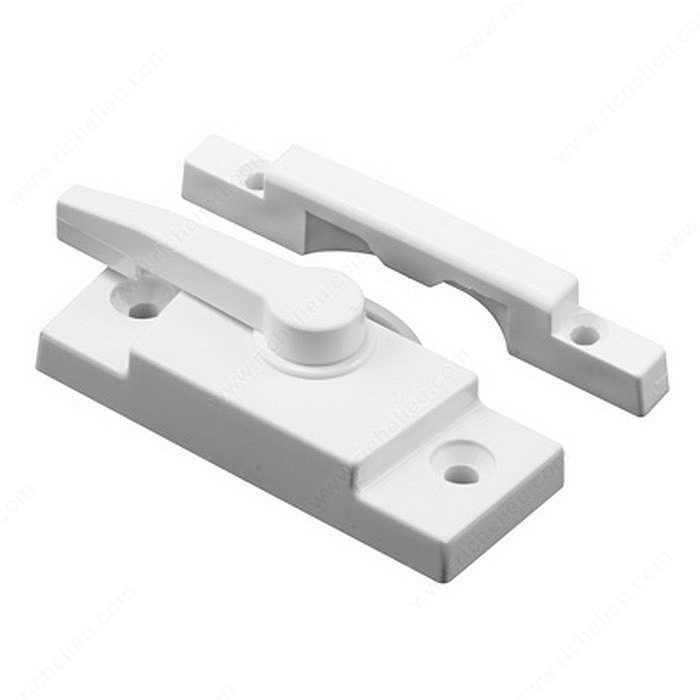 Vinyl Window Sash Lock With Keeper Hi Tech Glazing Supplies