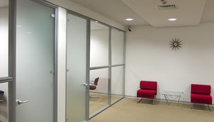 Number of Glass Partitions