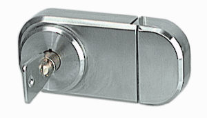 Locks for Glass Doors with UV Glue