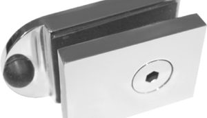 Deluxe Magnetic Safety Door Latch for Glass Pool Gate