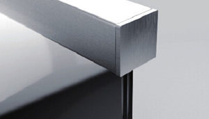 End Caps for Rectangular and Square Top Handrail