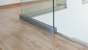 Total Vision Glass Railing Base Shoe Channel