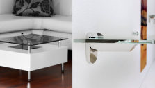Spacers, Clips, and Supports for Glass Shelves