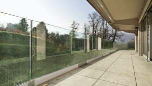 OnLevel Clear View Glass Railing