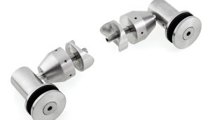 Premium Clamps for Glass Railing with Drilling